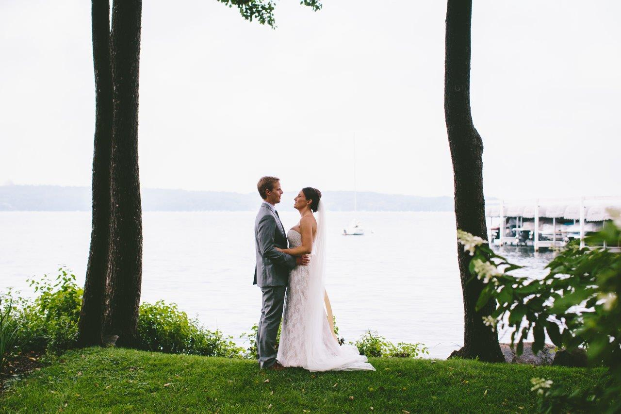 Wedding Photos at Wedding Venue near Lake Geneva Yatch Club