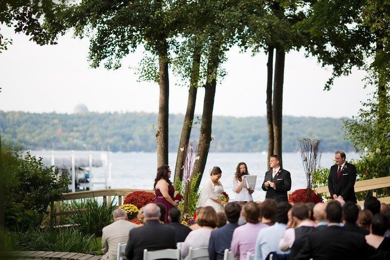 Wedding Photos at Wedding Venues near Abbey Harbor